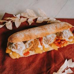 Image de CIABATTA falafels mozza poivrons